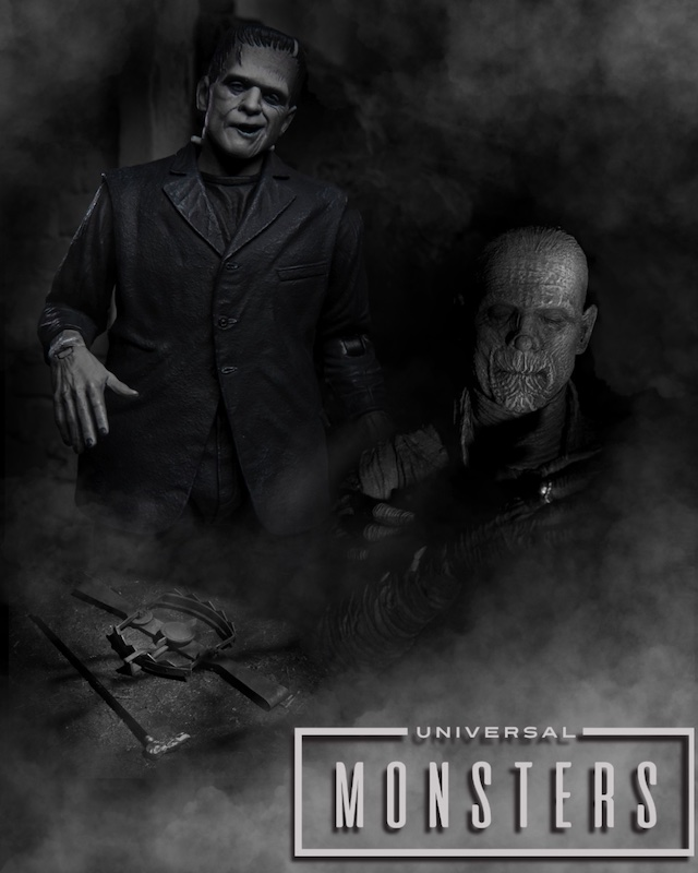 NECA Toys Universal Monsters Figures Coming In 2021 Press Release