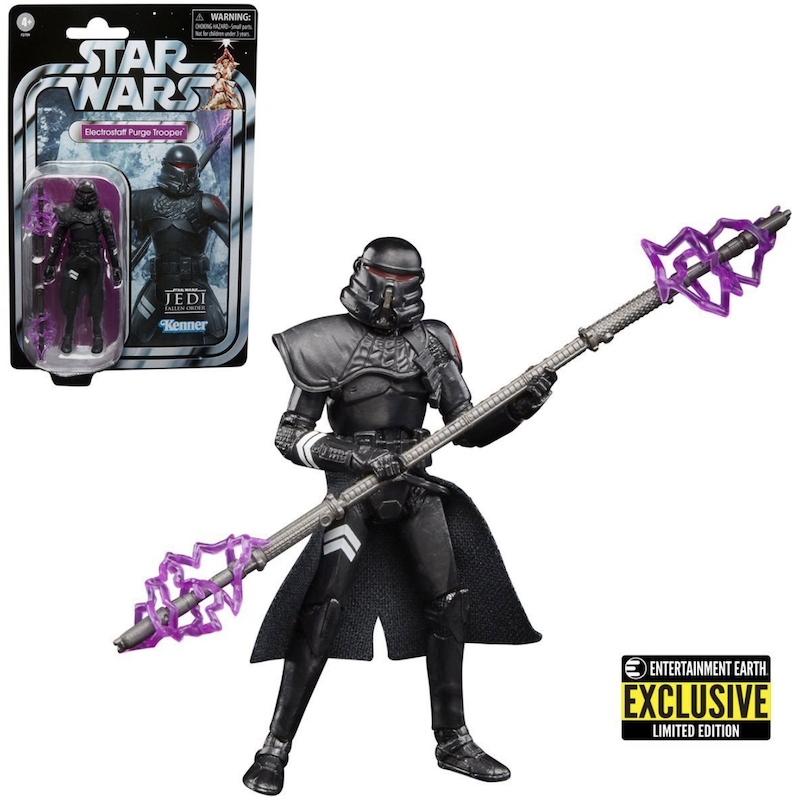 Hasbro Star Wars TVC Gaming Greats Electrostaff Purge Trooper Figure – Entertainment Earth Exclusive
