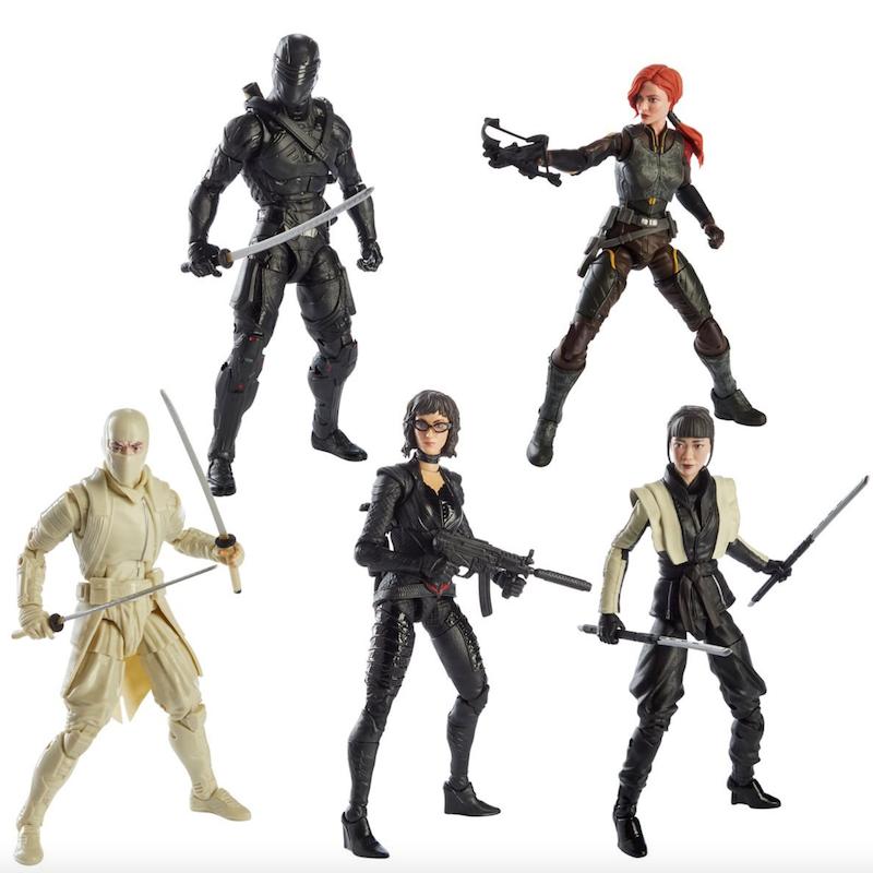 Hasbro G.I. Joe Classified Snake Eyes Movie Figure Pre-Orders
