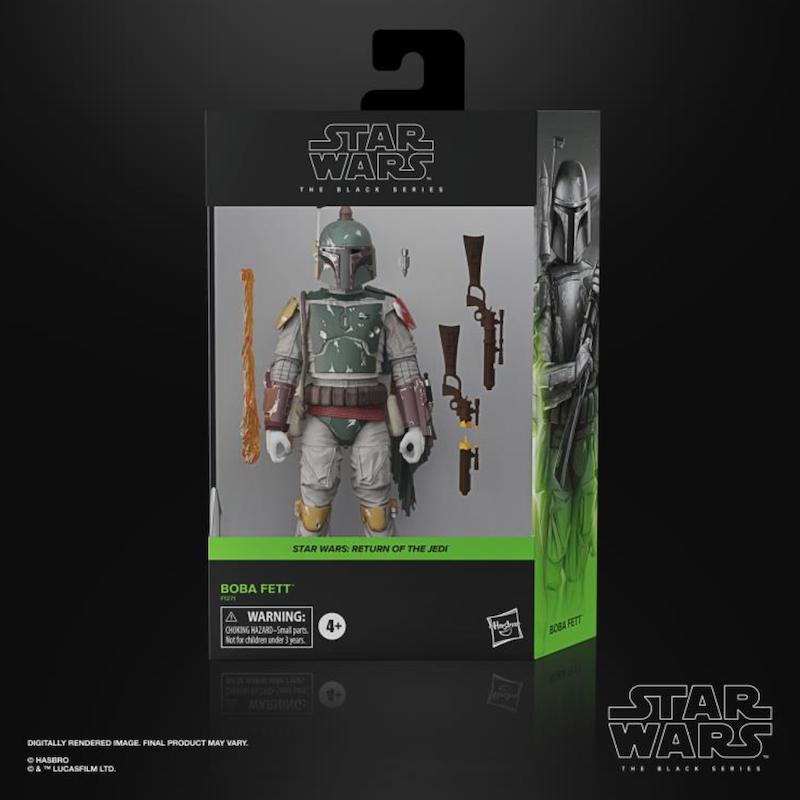 BigBadToyStore – Hasbro Star Wars The Black Series 6″ Boba Fett Deluxe Figure In-Stock