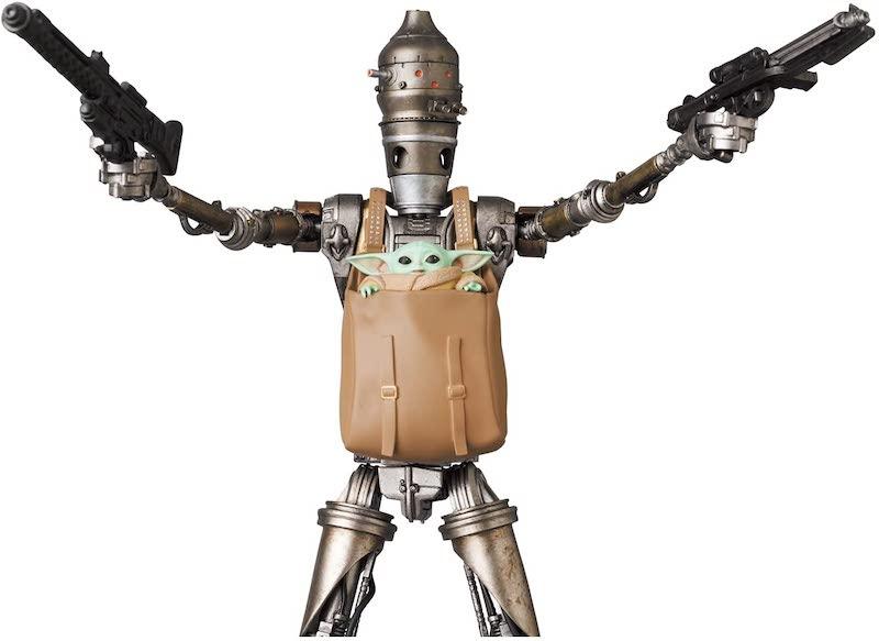 Medicom – MAFEX Star Wars The Mandalorian IG-11 Figure Pre-Orders