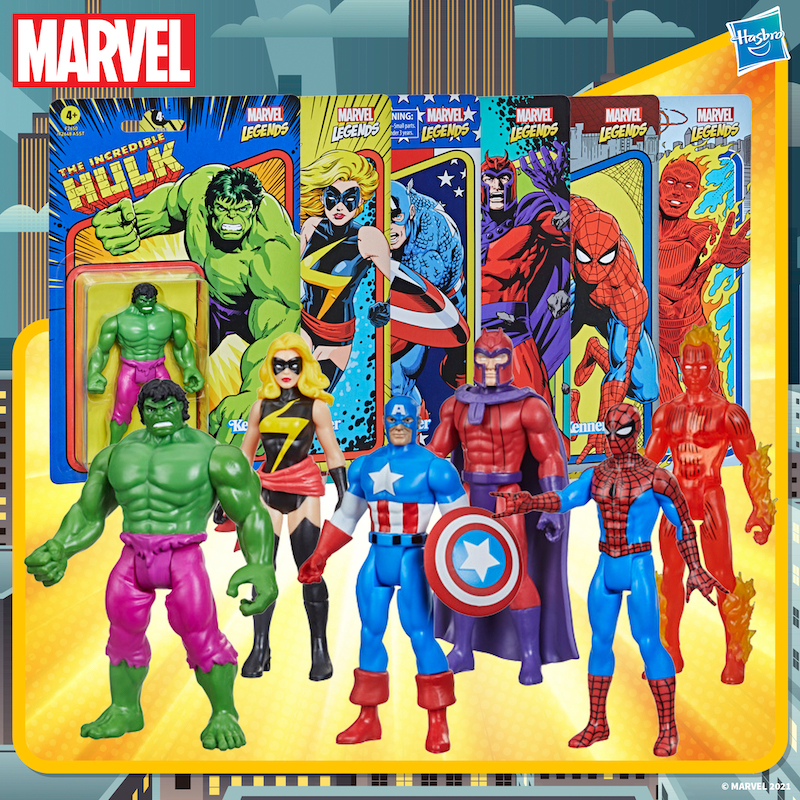 Entertainment Earth – Marvel Legends Kenner Retro Collection 3 3/4″ Figures Wave 1 Pre-Orders