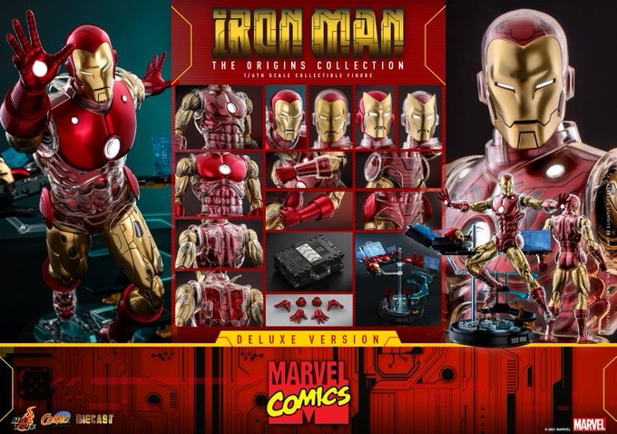 Hot Toys (The Origins Collection) Iron Man Sixth Scale Figure Pre-Orders