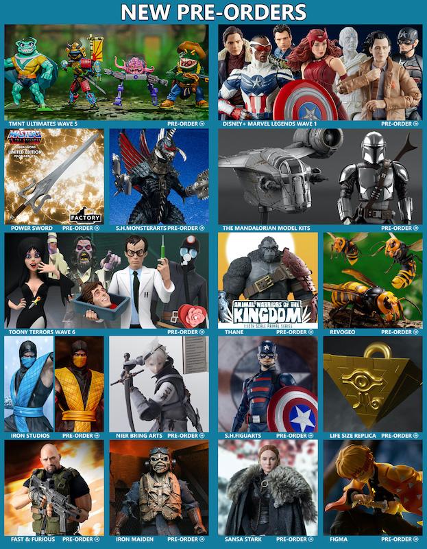BigBadToyStore News – TMNT, Marvel Legends, MOTU, Mandalorian, Gigan, Mortal Kombat, NieR, DC Multiverse, Anime & More