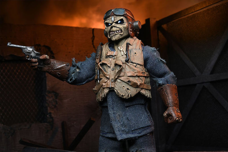 NECA Toys Iron Maiden – Aces High Eddie Figure