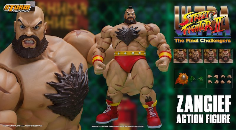 Storm Collectibles Ultra Street Fighter 2 – Zangief Figure Pre-Orders On Amazon