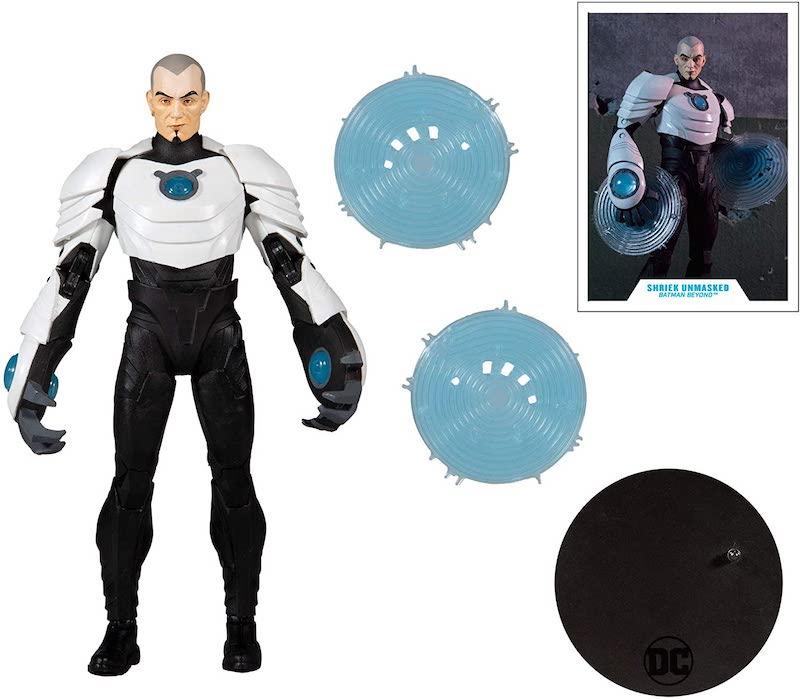 McFarlane Toys DC Multiverse – Batman Beyond Animated Shriek (Unmasked Variant) Figure Pre-Orders On Amazon