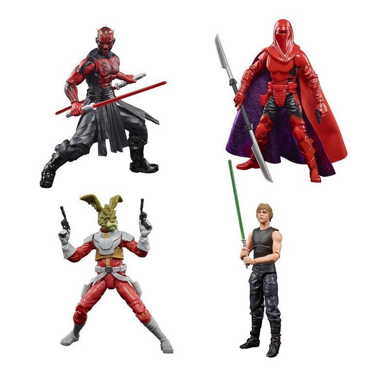 GameStop Offering Star Wars TBS Expanded Universe Luke Skywalker, Carnor Jax, Darth Maul & Jaxxon Rabbit Figure Bundle
