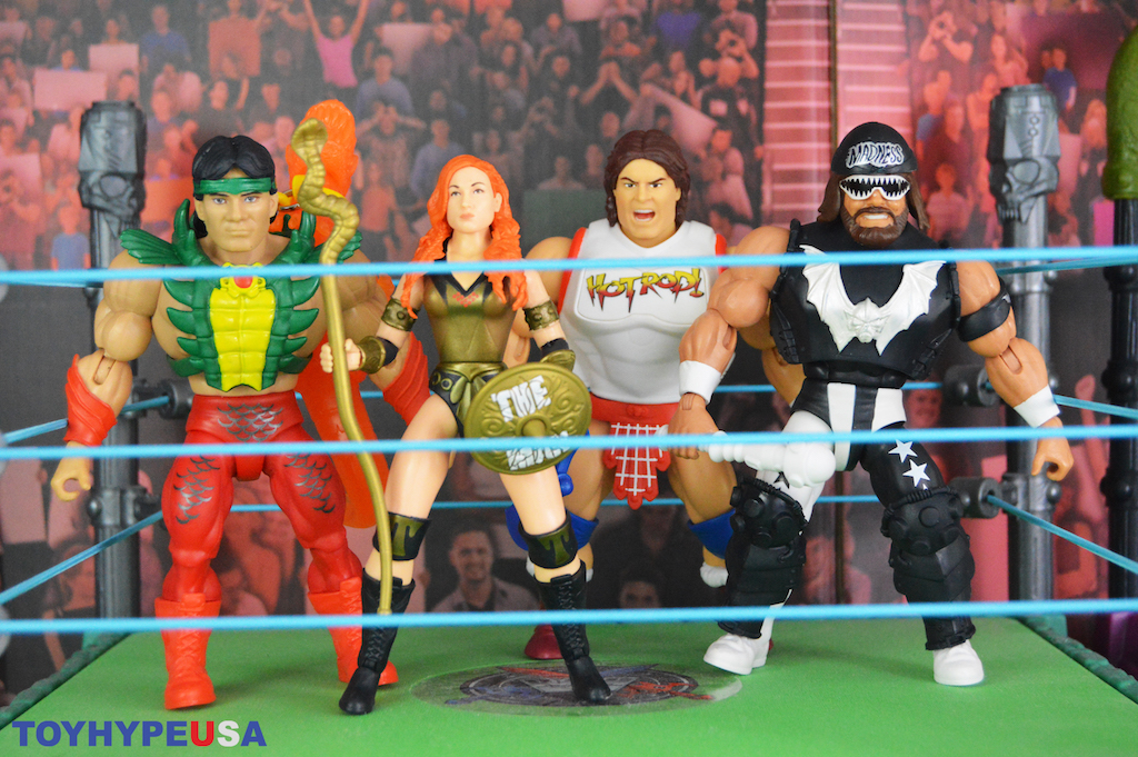 Mattel – Masters Of The WWE Universe Wave 5 Figures Video Review