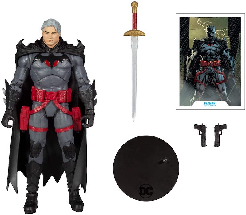 McFarlane Toys DC Multiverse – Thomas Wayne Flashpoint Batman Figure Pre-Orders On Amazon