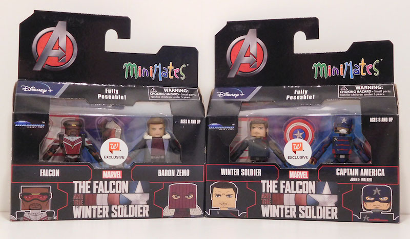 Diamond Select Toys The Falcon and the Winter Soldier Walgreens Exclusive Minimates