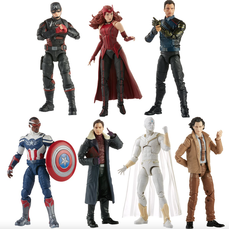 Hasbro Marvel Legends Disney+ Captain America Flight Gear BAF Wave Pre-Orders
