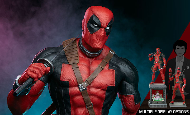 Pop Culture Shock Deadpool 1:3 Scale Statue Pre-Orders