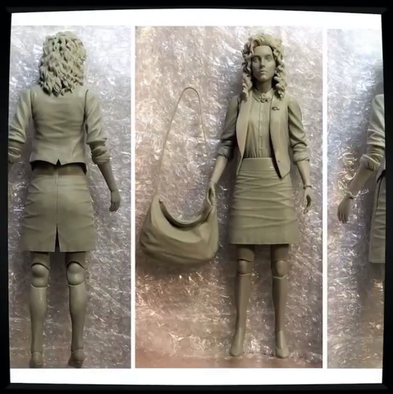 NECA Toys Teenage Mutant Ninja Turtles 1990 Movie – Behind The Scenes Making Of The April O'Neil Figure
