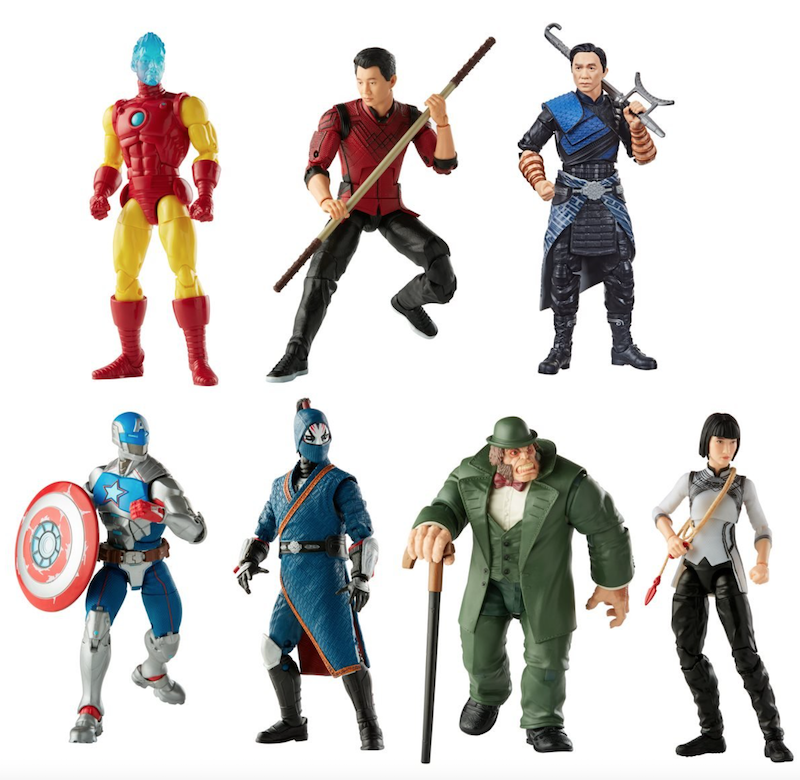 Hasbro Marvel Legends 6″ Shang-Chi Wave 1 Figures Pre-Orders