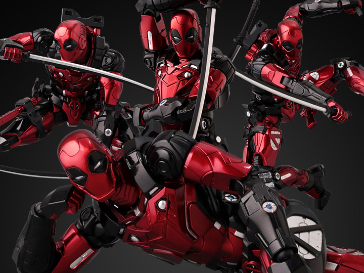 BigBadToyStore Exclusive – Marvel Fighting Armor Deadpool Figure