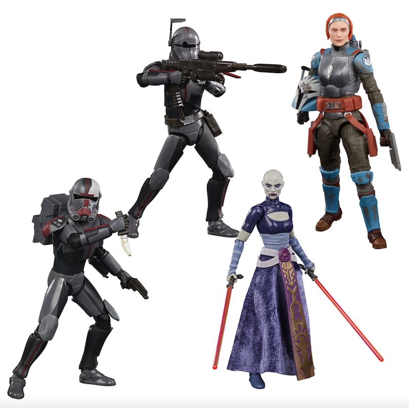 Entertainment Earth – Star Wars The Black Series The Bad Batch Case Assortment In-Stock