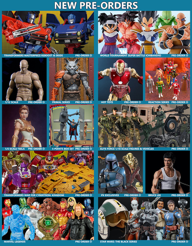 BigBadToyStore News – Transformers, DBZ, Star Wars, MMPR, DC, Marvel Legends, G.I. Joe, Hot Toys, Beastars, MOTU & More