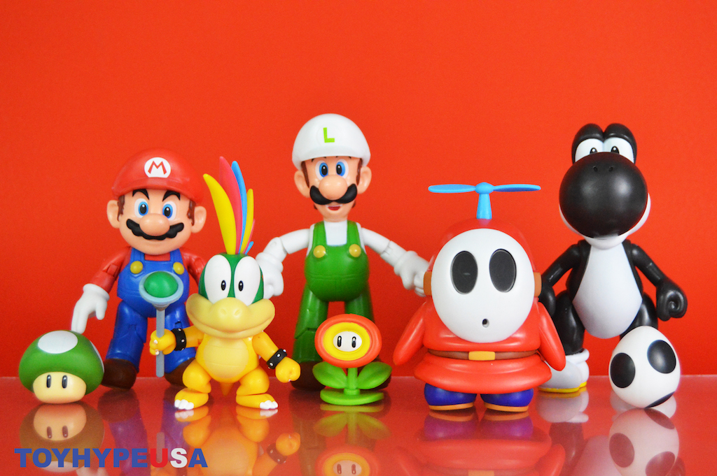 Jakks Pacific Super Mario – World Of Nintendo 4″ Wave 22 Figures Review
