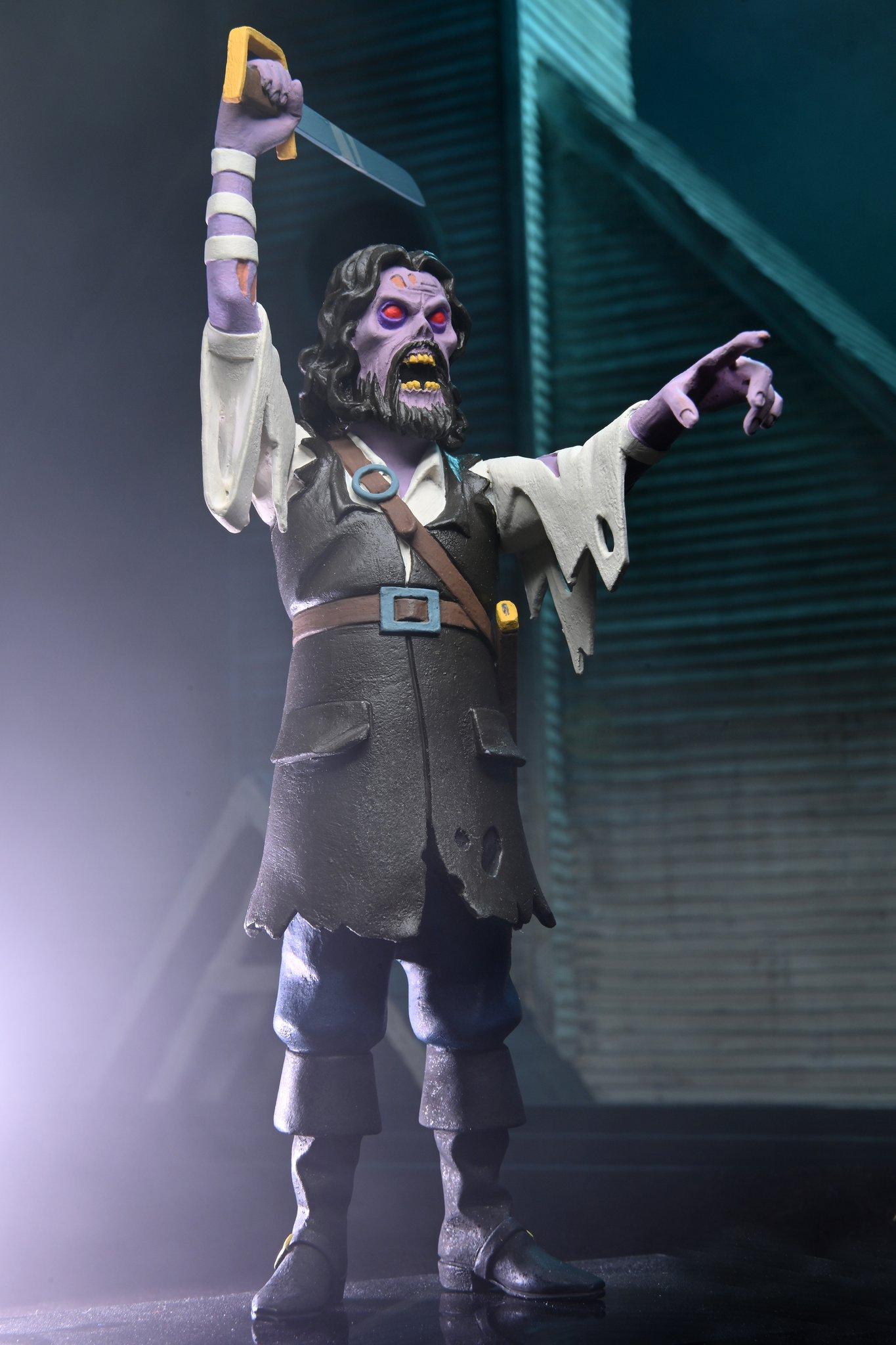 NECA Toys Previews Toony Terrors – The Fog – Captain Blake Figure