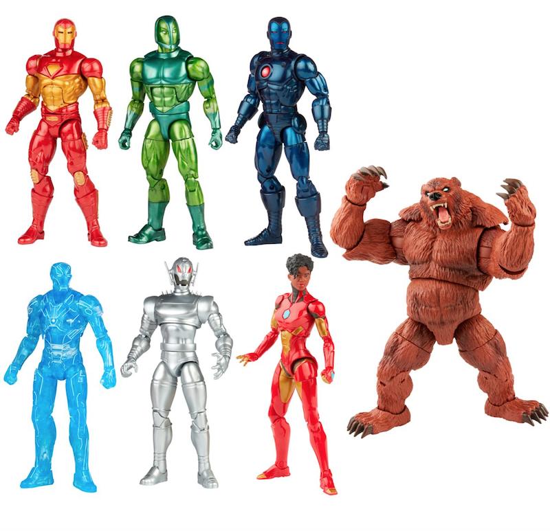 Hasbro Marvel Legends Comic Iron Man Wave 1 – Ursa Major Build-A-Figure Pre-Orders
