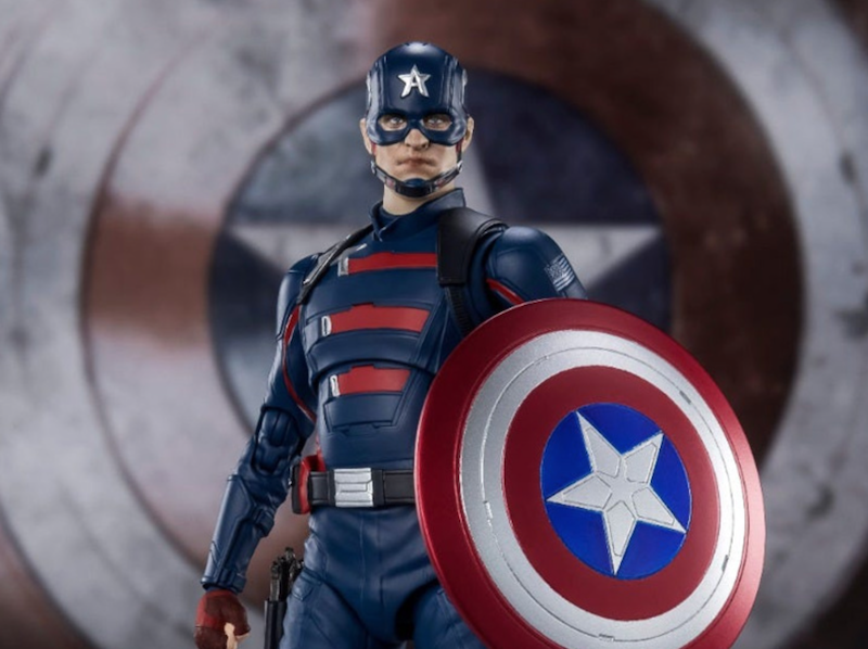 S.H. Figuarts The Falcon and the Winter Soldier – Captain America John Walker Figure Pre-Orders On Amazon