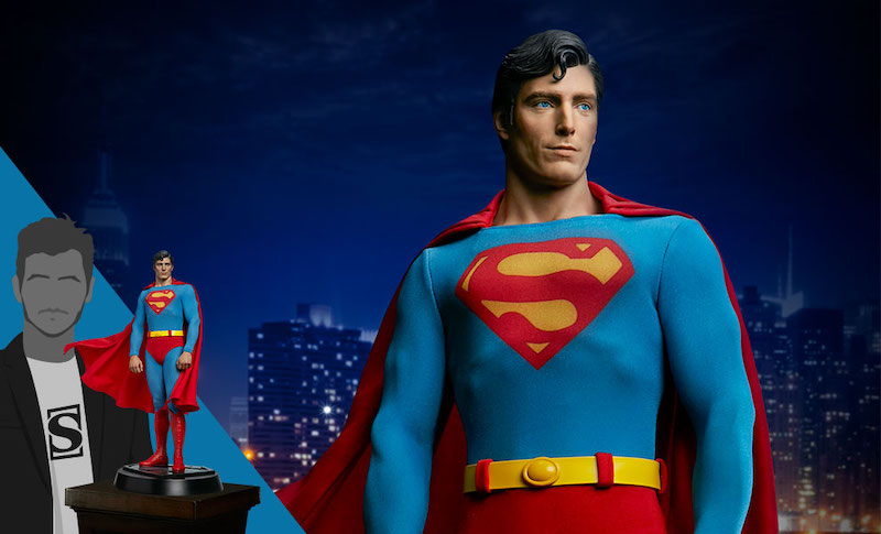 Sideshow Collectibles – Superman The Movie – Christopher Reeve Superman Statue Pre-Orders