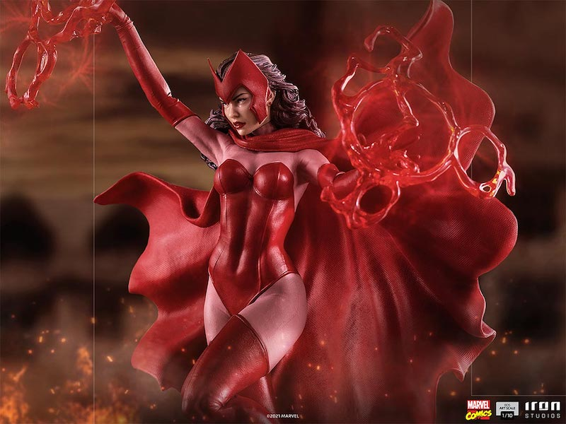 Iron Studios Marvel Comics – Scarlet Witch Statue Pre-Orders