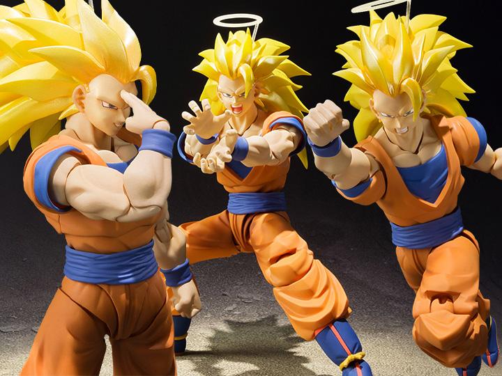 Bandai Tamashii Nations S.H. Figuarts Super Saiyan 3 Goku Figure Reissue