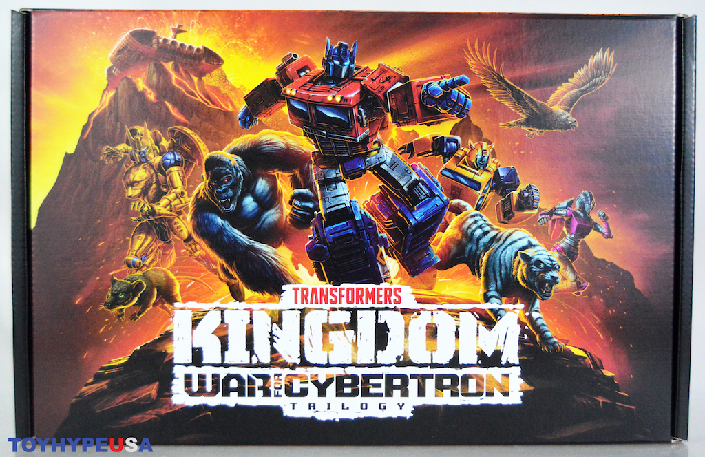 Hasbro Transformers War for Cybertron: Kingdom PR Box Video Unboxing & Review
