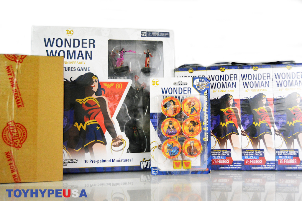 Wizkids – DC Comics Heroclix – Wonder Woman 80th Anniversary Booster Brick & Game Video Unboxing & Review