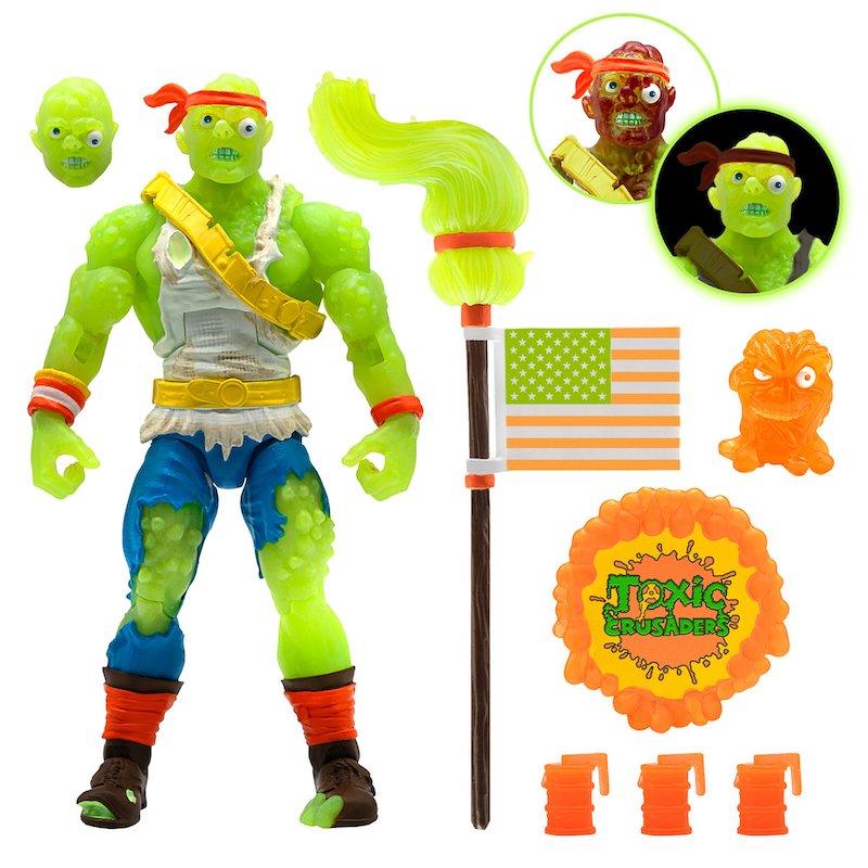 Super7 Toxic Crusader – Radioactive Red Rage Figure Pre-Orders