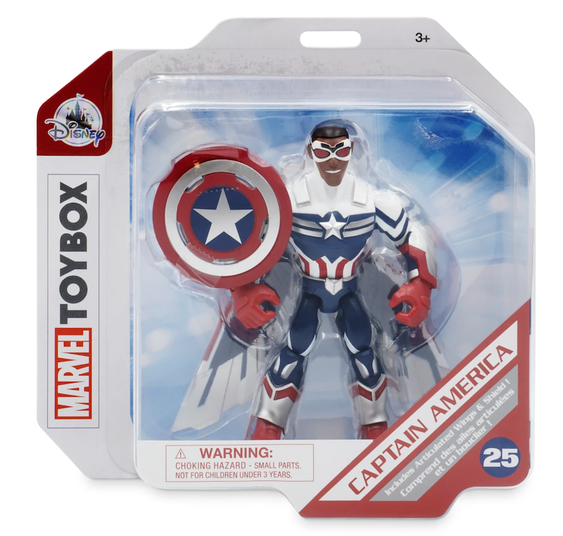 Disney Store Exclusive – Marvel Toy Box – The Falcon and the Winter Soldier Figures Available Now