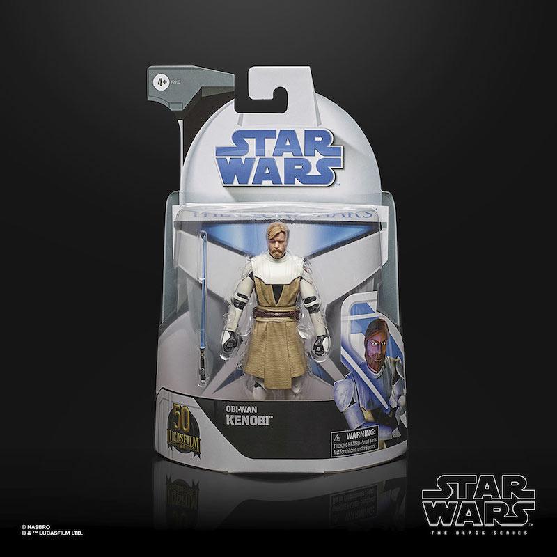Hasbro Star Wars: The Clone Wars – The Black Series Figures In Retro Packaging