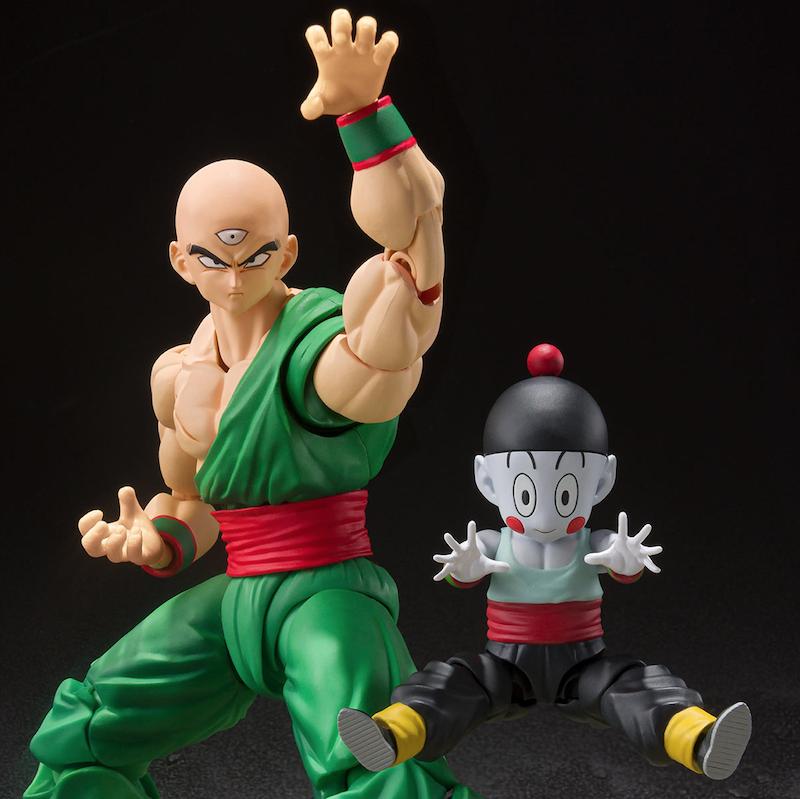 Premium Bandai – S.H. Figuarts Dragon Ball Z Tenshinhan & Chaoz Figure Pre-Orders