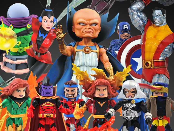 Diamond Select Toys Solicitations For October 2021 – Marvel Select The Watcher, Dark Phoenix, Captain America & More