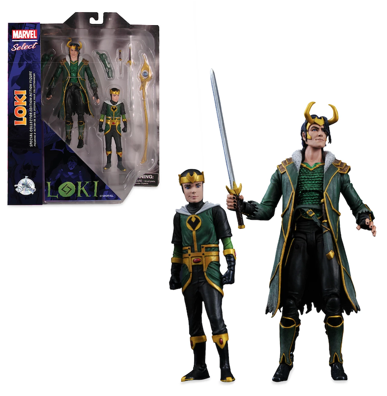 Diamond Select Toys Marvel Select Loki Special Collector Edition Figure Set Available At ShopDisney