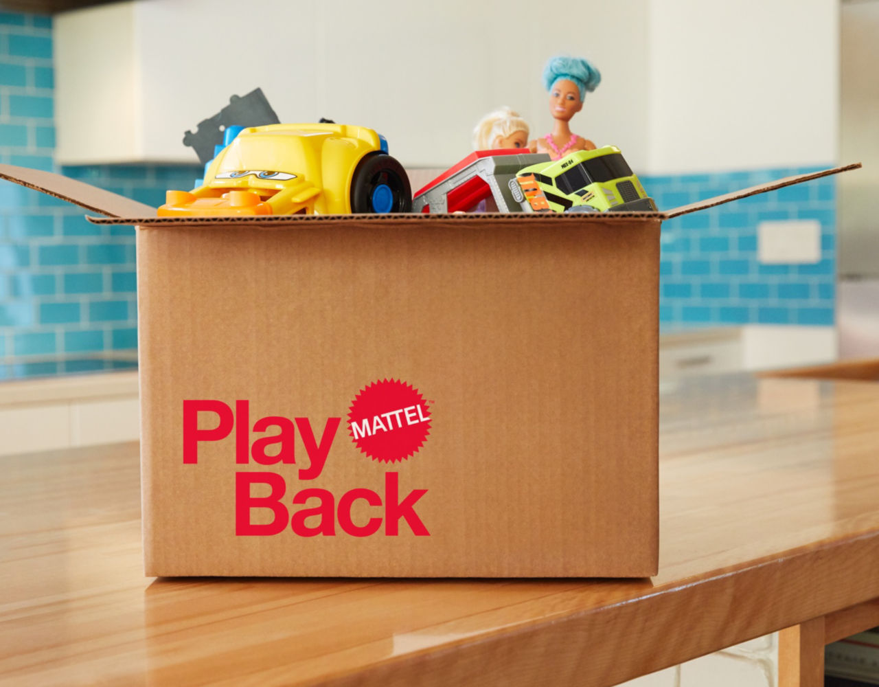 Mattel Launches Mattel Playback – Send Back Used Toys For Recycling