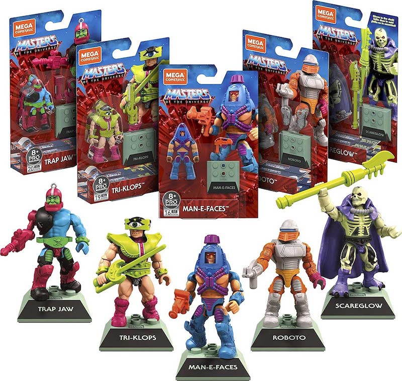 Mega Construx Masters of The Universe Heroes 5-Pack Pre-Orders Back On Amazon