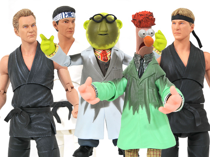 Diamond Select Toys SDCC 2021 Exclusives – Cobra Kai & The Muppets Figure Pre-Orders