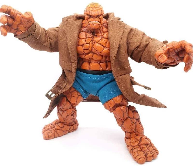 FIGLot Custom Wired Trench Coat for Marvel Legends 6″ Thing Figure