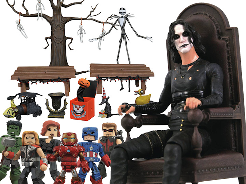 Diamond Select Toys SDCC 2021 Exclusives – Marvel Minimates, NBX & The Crow Pre-Orders