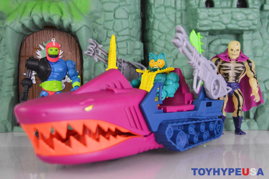 Mattel – Masters Of The Universe Origins Land Shark Vehicle Review