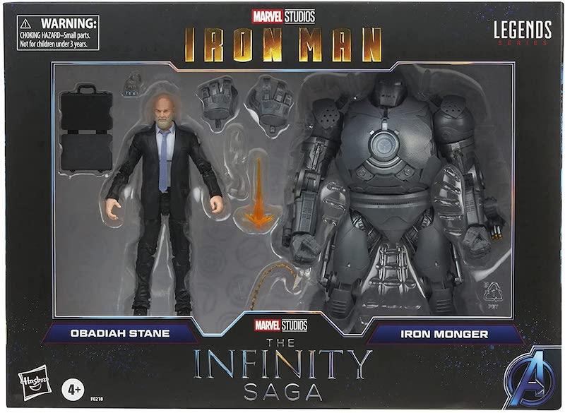 Hasbro Marvel Legends 6″ Obadiah Stane & Iron Monger Figure 2-Pack Pre-Orders