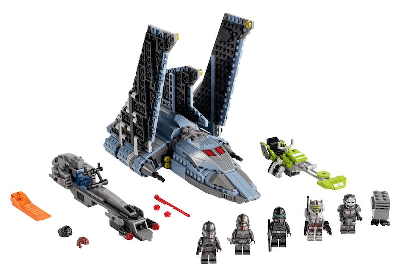 LEGO Star Wars The Bad Batch 75314 Attack Shuttle