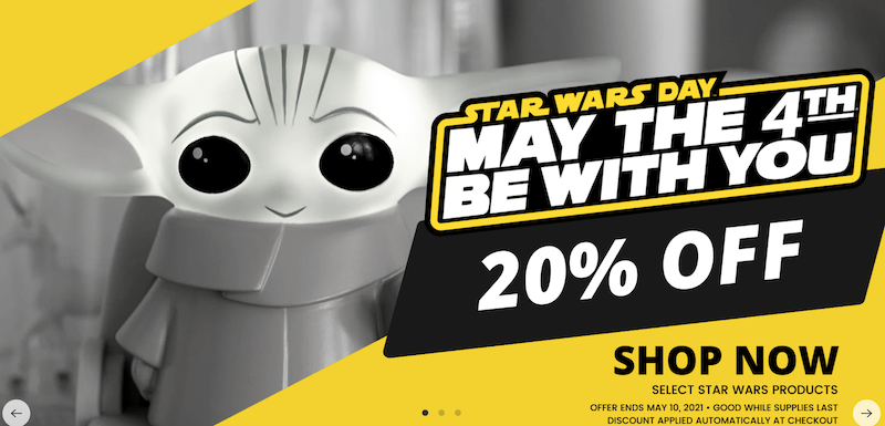 Toynk – May the Fourth 2021 Star Wars Sale