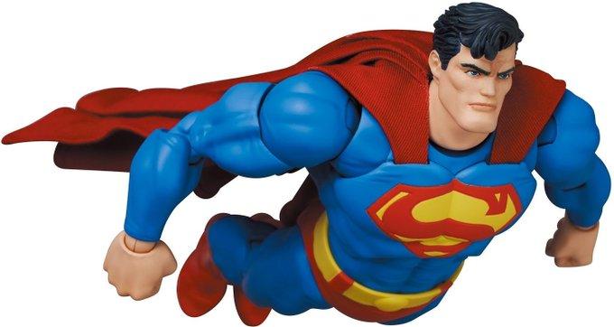 Medicom – MAFEX Dark Knight Returns Superman Figure Pre-Orders