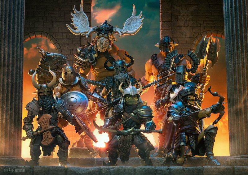 Four Horsemen Studios – Mythic Legions Deluxe Legion Builder Wave 1