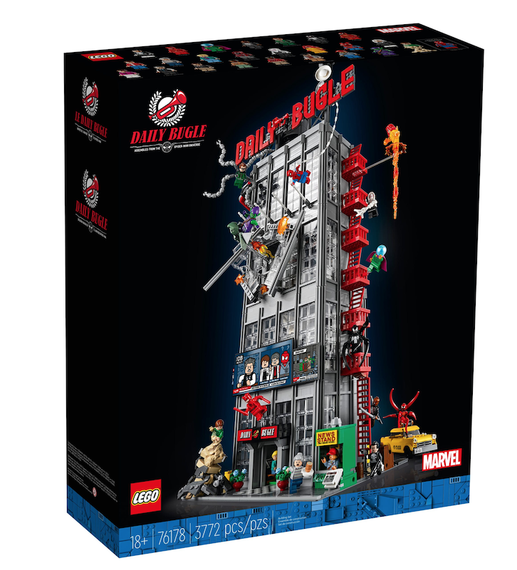 LEGO Daily Bugle 76178 – Spider-Man Set In-Stock At Disney Store