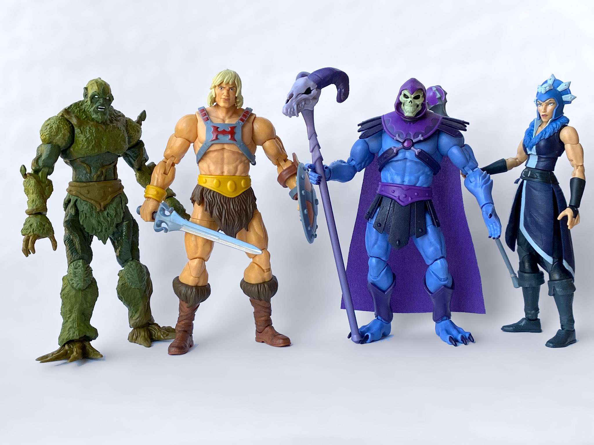 Mattel – Masters of the Universe Masterverse Figures – New Images